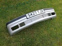BMW 3 SERIES E36 COUPE SALOON TOURING CONVERTIBLE COMPACT SILVER FRONT BUMPER