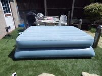 DOUBLE AERO PUMP UP BED