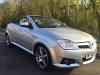 VAUXHALL TIGRA 1.4 EXCLUSIVE CABRIOLET LOW MILEAGE FULL MOT NO ADVISORIES FIRST TO SEE WILL BUY