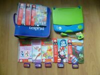 Leap frog leappad learning system bundle with books and 5 cartridges