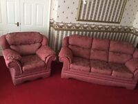 3 Piece Suite Orthopedic Cushions and Backs Special Order