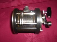 PENN 330 GTI GRAPHITE LEVEL WIND BOAT REEL MADE IN U S A