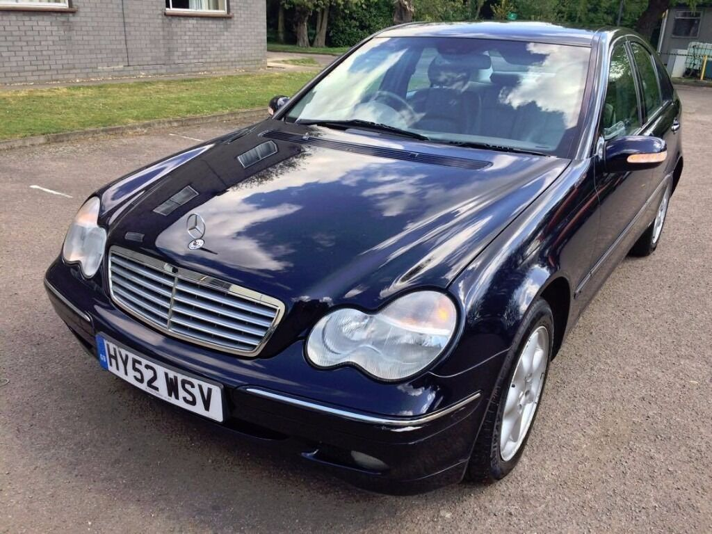 automatic 2002 mercedes benz c240 elegance 1 previous lady owner 6 month
