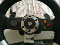 X box 360 steering wheel
