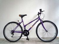 "(1874) 26"" 17"" UNIVERSAL ADULT WOMEN MOUNTAIN FULL RIGID BIKE BICYCLE Height: 167-173 cm(5'6""-5'8"")"