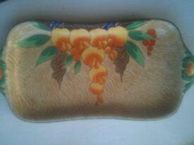 Art decco. Art decco ceramic tray