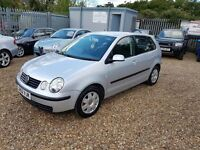 2002 Volkswagen Polo 1.4 SE with full service history