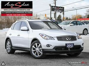 2012 Infiniti EX35 AWD ONLY 63K! **BACK-UP CAMERA** CLEAN CAR...