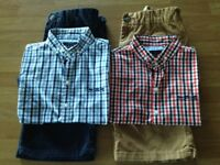 Older boys summer shirts and shorts bundle from Next age 11 years