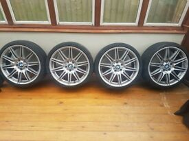 19inch bmw alloys and tyres. Came off bmw e92 335i.