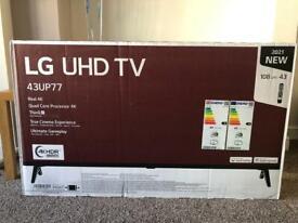 """LG TV 43"""" UHD"""