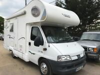 Peugeot Boxer 6 Birth Motorhome with only 13k on the clock, FSH, Diesel