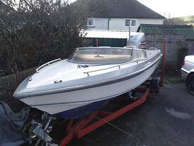 16ft picton 159 gts speedboat