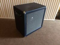 Ampeg B15NL Double Baffle Cab by Fliptops, Vintage JBL D130 Alnico Speaker - Classic Look and Tone!