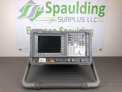 Agilent Keysight E4405b 9khz To 13.2ghz Spectrum Analyzer With Calibration