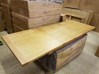New 1.8m Extending Oak Dining Table