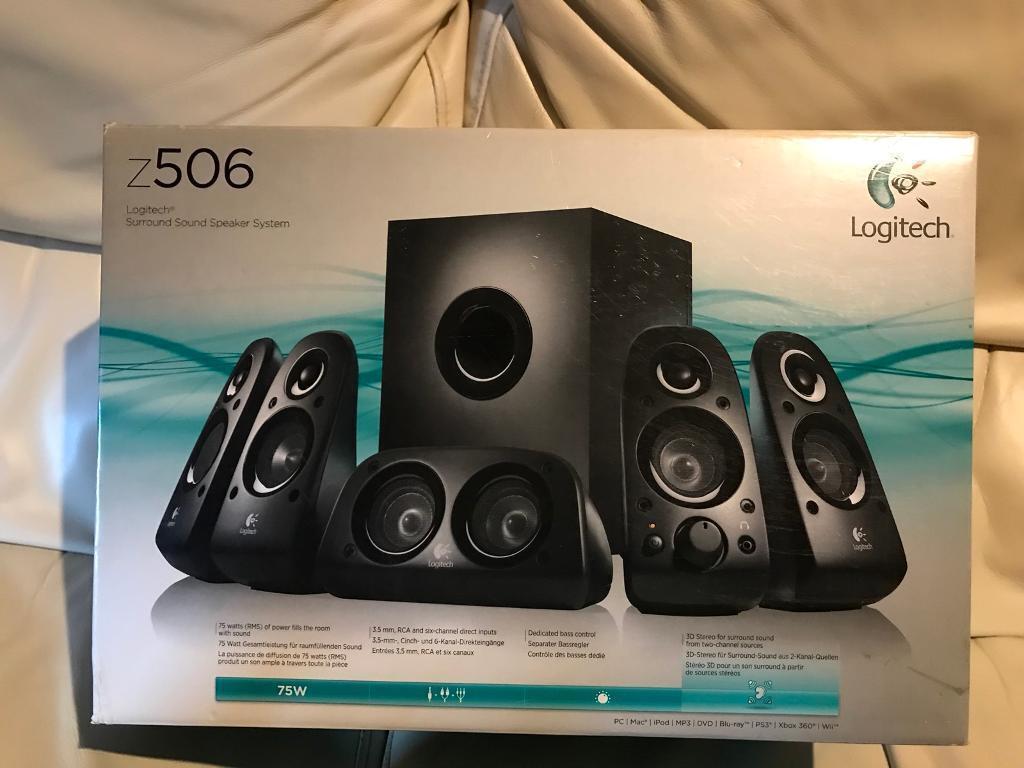 Logitech Z506 5 1 Surround Sound System | in Crosshill, Glasgow | Gumtree