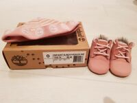Brand new infant pink timberlands