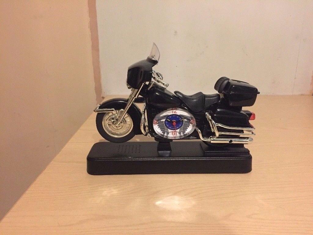 Motorcycle Alarm Clock - Brand New