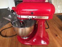 KitchenAid Artisan 5KSM150PS 4.8L mixer RED