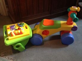 Tomy Toddle n Ride 2in1 toy