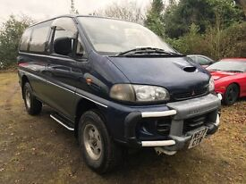 94M MITSUBISHI DELICA 2.8 TD AUTO 4WD EXCEED 8 SEATER FULL MOT SIDE STEPS NEW TYRES HISTORY PX SWAPS