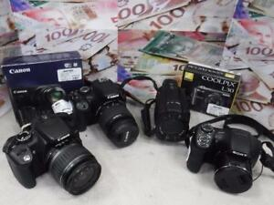 We Pay Crazy Cash For Your Camera Equipment! We Take Everything From Cameras, Camcorders, Lens and Much More!