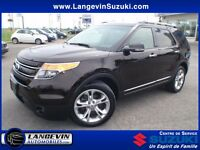 2013 Ford Explorer Limited/4WD/CUIR/GPS/TOIT PANORAMIQUE