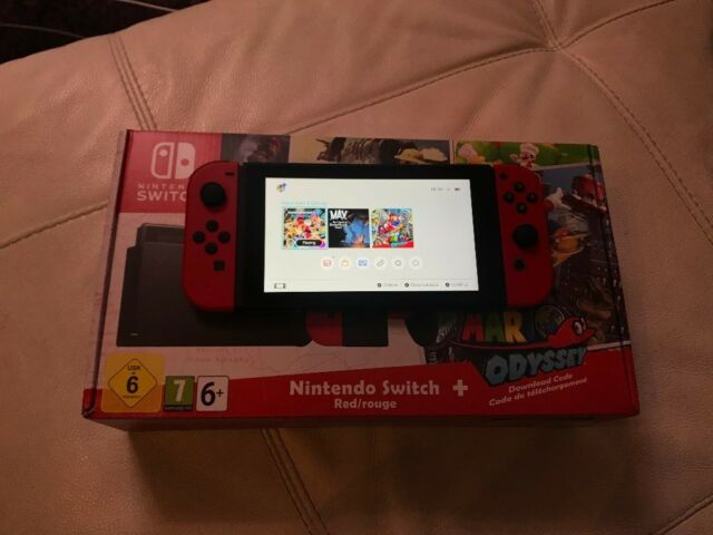 Nintendo Switch Mario Odyssey Edition Limited Edition Console In Greenwich London Gumtree