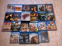 Various Blu Rays, Priced Individually, Read Description