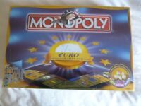 MONOPOLY EURO COMMEMORATIVE EDITION, NEW, SEALED by WADDINGTONS for sale  Shipley, West Yorkshire