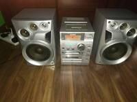 Sony hi-fi system CD MD tape RDS