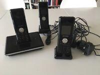 FREE Landline phone with 3 handsets