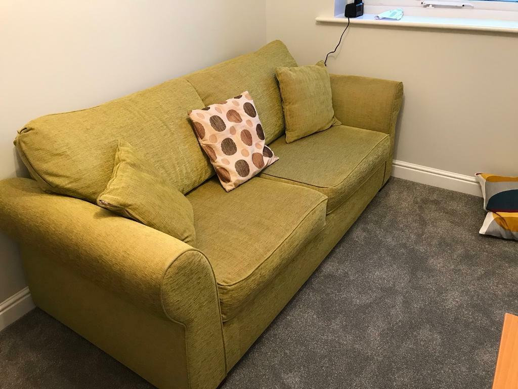 3 Seater Sofa Bed. - NOW SOLD