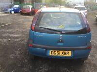 1.2 Vauxhall corsa 7months mot cheap car £350 Ono