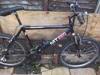 raleigh 18 geared mountain bike