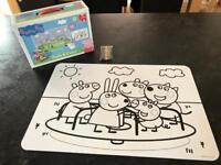 Peppa Pig Colour Your Own Puzzle