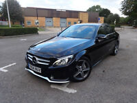 Mercedes-Benz C Class C220 Bluetec Amg Line Saloon Auto Diesel 0% FINANCE AVAILABLE