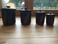 Coffee tea and sugar pots