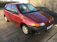 Fiat Punto 1.1 - great driver - very clean - no faults - cheap run around ideal learner car