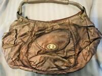 Copper/metallic brown handbag. EUC
