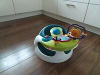 Mamas and papas baby seat with tou