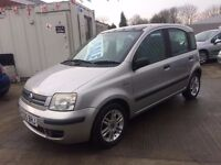 05 Fiat Panda 1.2 Eleganza 5dr - MOT Sept - Glass Panoramic Roo - Alloys- Recent Service- PX WELCOME