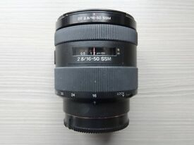 Sony 16-50mm f/2.8 Lens for Sony A-Mount Cameras