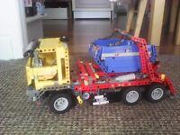 Lego technics skip lorry