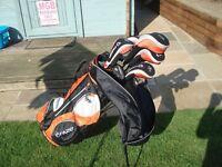 Set of Fazer Golf Clubs plus Bag plus extras