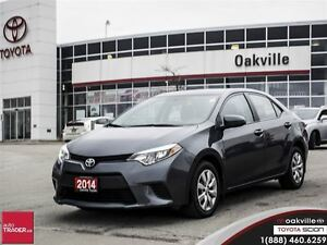 2014 Toyota Corolla LE w/ Back Up Camera, Bluetooth & Heated Sea