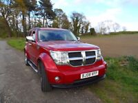 2008 DODGE NITRO,LOOKS LIKE NEW,MOT DEC 2017,HIGH SPEC CD PLAYER,GUARANTEED GREAT JEEP TO BUY