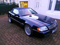 Classic Mercedes R129 SL500
