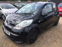 PEUGEOT 107 1.0 12v URBAN HATCHBACK 3 DR 2006 IDEAL FIRST CAR CHEAP INSURANCE £20 ROAD TAX